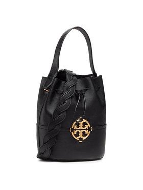 Tory Burch Tory Burch Дамска чанта Miller Bucket Bag 79323-001 Черен
