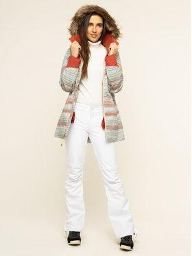 Burton Burton Kurtka snowboardowa Lelah 20541101960 Zielony Slim Fit