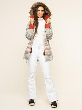 Burton Burton Snowboardová bunda Lelah 20541101960 Zelená Slim Fit
