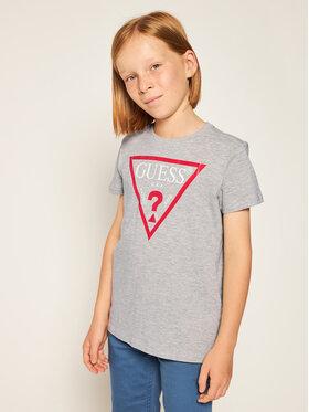 Guess Guess T-Shirt L73I55 K5M20 Γκρι Regular Fit