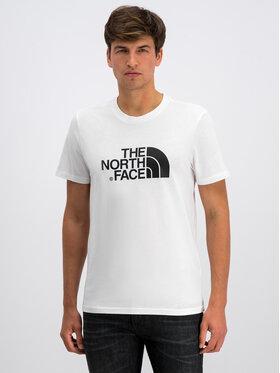 The North Face The North Face Póló Easy NF0A2TX3FN4 Fehér Regular Fit