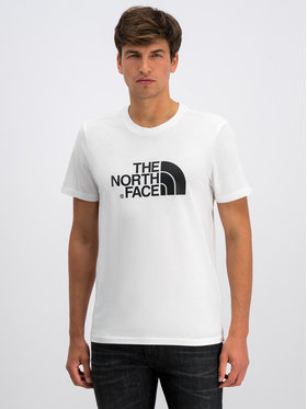 The North Face The North Face Тишърт Easy NF0A2TX3FN4 Бял Regular Fit