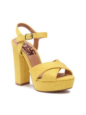 Refresh Refresh Sandále 69837 Žltá