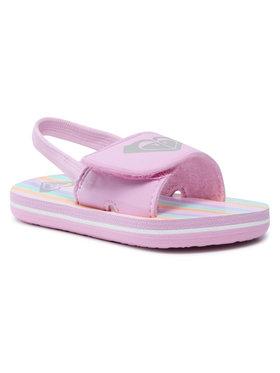 Roxy Roxy Sandały AROL100012 Różowy
