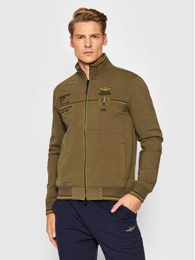Aeronautica Militare Aeronautica Militare Sweatshirt 212FE1633F442 Vert Regular Fit