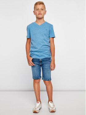 Tommy Hilfiger Tommy Hilfiger T-Shirt KB0KB04142 D Niebieski Regular Fit