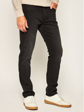 Wrangler Wrangler Jeans Slim Fit Larston W18SU3840 Blu Slim Tapered Fit
