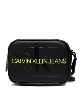 Calvin Klein Jeans Calvin Klein Jeans Дамска чанта Sculpted Camera Bag Mono K60K608373 Черен