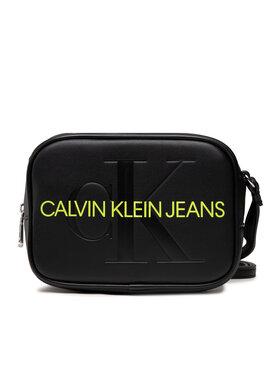 Calvin Klein Jeans Calvin Klein Jeans Kabelka Sculpted Camera Bag Mono K60K608373 Černá