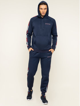 Tommy Sport Tommy Sport Bluză Tape Fleece S20S200325 Bleumarin Regular Fit