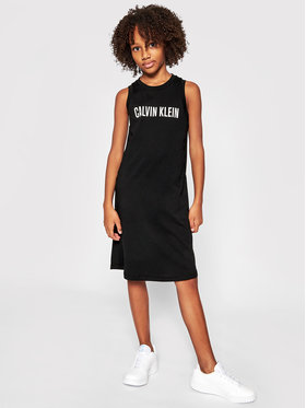 Calvin Klein Swimwear Calvin Klein Swimwear Haljina za svaki dan G80G800407 Crna Regular Fit
