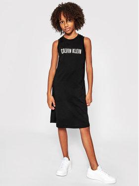 Calvin Klein Swimwear Calvin Klein Swimwear Kasdieninė suknelė G80G800407 Juoda Regular Fit