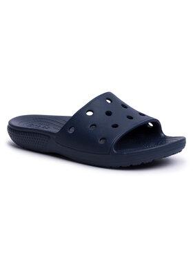 Crocs Crocs Klapki Classic Slide 206121 Granatowy