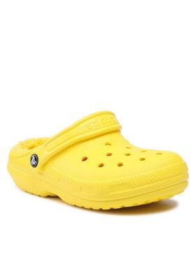 Crocs Crocs Mules / sandales de bain Classic Lined Clog 203591 Jaune
