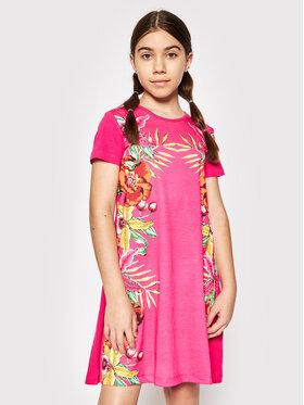 Desigual Desigual Sukienka codzienna Lucy 21SGVK31 Różowy Regular Fit
