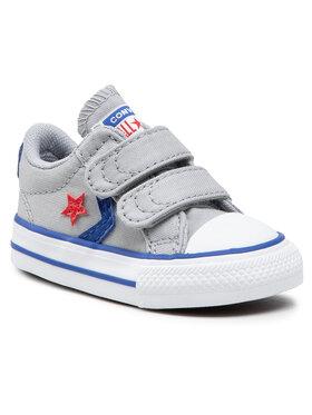Converse Converse Sneakers aus Stoff Star Player 2V OX 763529C Grau