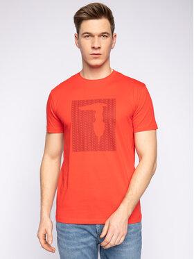 Trussardi Jeans Trussardi Jeans Tričko 52T00311 Červená Regular Fit