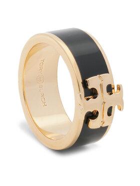 Tory Burch Tory Burch Inel Kira Logo Ring 60359 Negru