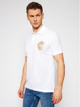 Versace Jeans Couture Versace Jeans Couture Тениска с яка и копчета B3GWA75F Бял Regular Fit