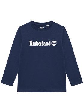 Timberland Timberland Bluzka T25S26 S Granatowy Regular Fit