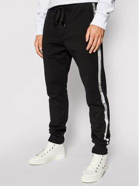 Versace Jeans Couture Versace Jeans Couture Долнище анцуг Tape Logo 71GAA3B7 Черен Regular Fit