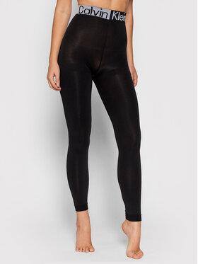 Calvin Klein Underwear Calvin Klein Underwear Legginsy 701218761 Czarny Slim Fit