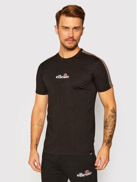 Ellesse Ellesse T-Shirt Carcano SHG09759 Czarny Regular Fit
