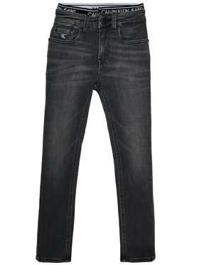 Calvin Klein Jeans Calvin Klein Jeans Дънки Infinite IB0IB00583 Сив Skinny Fit