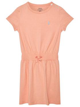 Polo Ralph Lauren Polo Ralph Lauren Každodenné šaty Play 312837203007 Oranžová Regular Fit