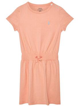 Polo Ralph Lauren Polo Ralph Lauren Každodenní šaty Play 312837203007 Oranžová Regular Fit