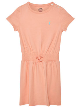 Polo Ralph Lauren Polo Ralph Lauren Sukienka codzienna Play 312837203007 Pomarańczowy Regular Fit
