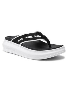 KARL LAGERFELD KARL LAGERFELD Flip flop KL62508 Negru