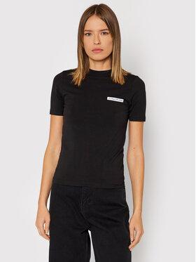 Calvin Klein Jeans Calvin Klein Jeans Футболка J20J217295 Чорний Regular Fit