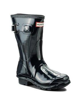 Hunter Hunter Guminiai batai Org Short Gloss WFS1000RGL Tamsiai mėlyna