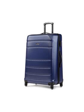Wittchen Wittchen Nagy kemény borítású bőrönd 56-3A-653-90 Sötétkék