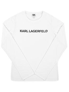 KARL LAGERFELD KARL LAGERFELD Chemisier Z15208 Blanc Regular Fit