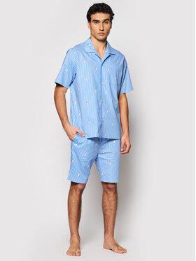 Polo Ralph Lauren Polo Ralph Lauren Pijama Sst 714830268002 Albastru