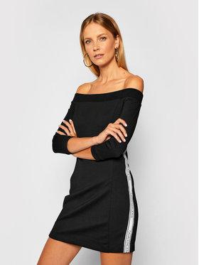 Calvin Klein Jeans Calvin Klein Jeans Trikotažinė suknelė Milano J20J214243 Juoda Slim Fit