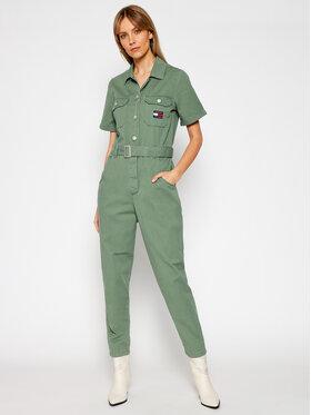 Tommy Jeans Tommy Jeans Kombinezon Tjw Boiler Suit DW0DW09846 Zielony Regular Fit