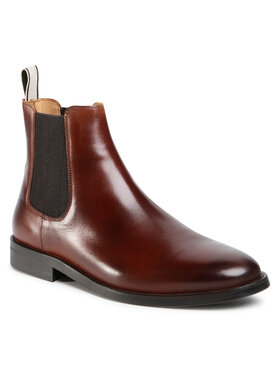 Gant Gant Kotníková obuv s elastickým prvkem Sharpville 21651036 Hnědá