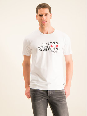 Guess Guess T-Shirt M01I42 K9GZ0 Λευκό Regular Fit