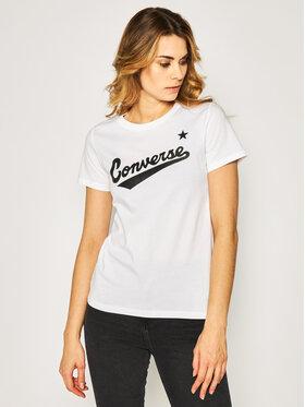 Converse Converse T-Shirt Center Front Logo 10018268-A04 Regular Fit