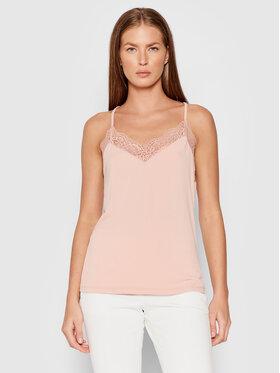 Vero Moda Vero Moda Top Ana 10233216 Różowy Regular Fit