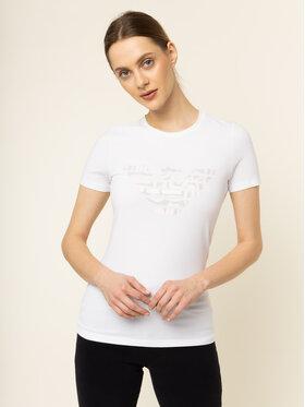 Emporio Armani Emporio Armani T-shirt 3H2T8A 2J07Z 0100 Blanc Regular Fit