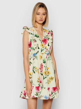 Rinascimento Rinascimento Sukienka letnia CFC0103754003 Beżowy Regular Fit