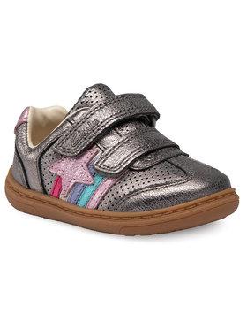 Clarks Clarks Sneakers Flash Heat T 261526586 Argintiu