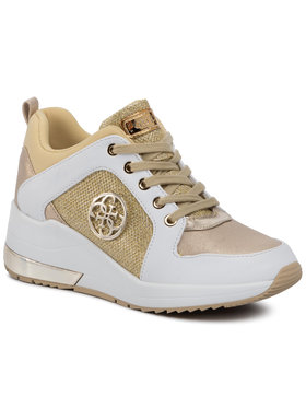 Guess Guess Sneakersy Jaryds4 FL6JRY ELE12 Zlatá