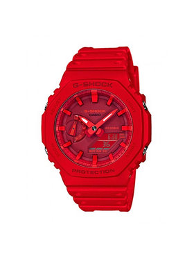G-Shock G-Shock Ρολόι GA-2100-4AER Κόκκινο