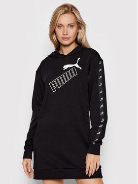 Puma Puma Φόρεμα υφασμάτινο Amplified 583629 Μαύρο Relaxed Fit