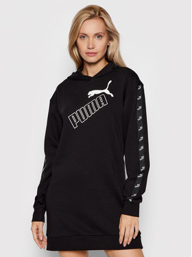 Puma Puma Robe en tricot Amplified 583629 Noir Relaxed Fit